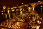 Вечерняя прогулка на теплоходе LUXE по Влтаве с ужином и живой музыкой