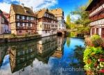 Баден-Баден, Кольмар, Страсбург (Германия, Франция)